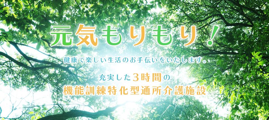充実の3時間で、笑顔で健康な生活を!│広島市佐伯区の『デイサービスセンターもりもり』